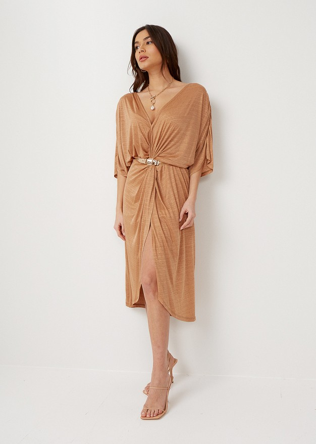 Dress with knot