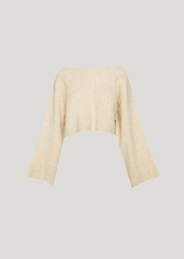 Скъсен пуловер