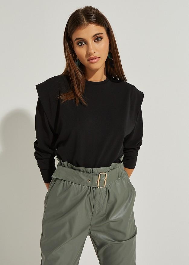 Blouse with shoulder details