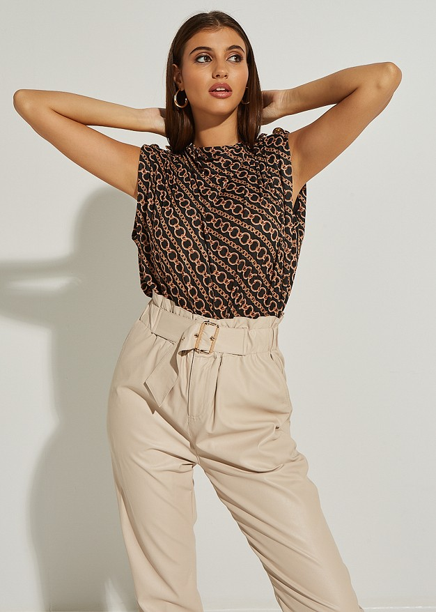 Chain look top
