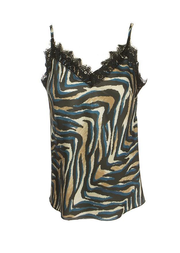 Μπλούζα lingerie με δαντέλα