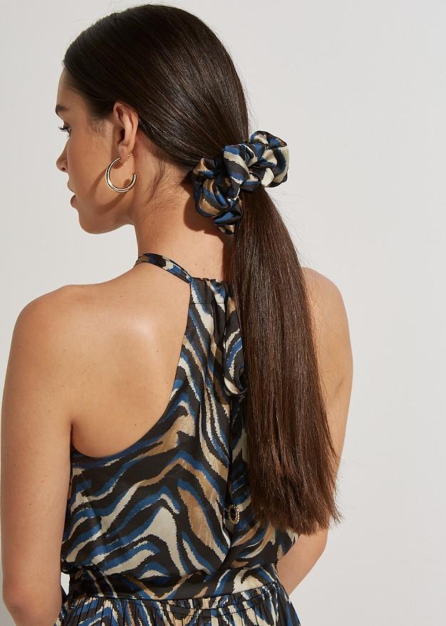 Animal print κοκαλάκι μαλλιών