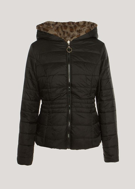 Късо двулицево яке