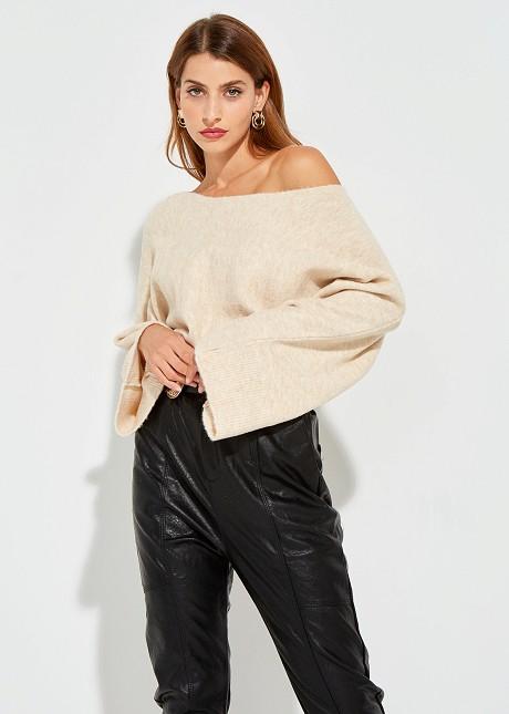 Crop πουλόβερ