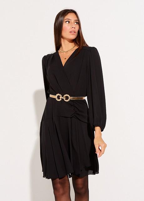 Къса асиметрична рокля
