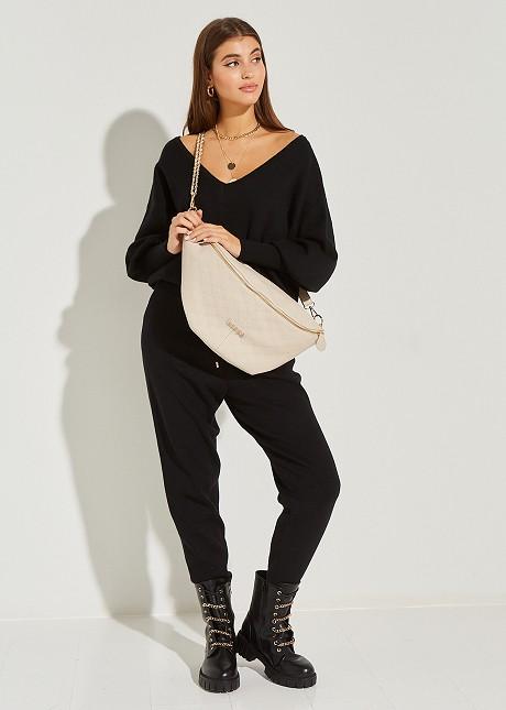 Knitted trouser jogger