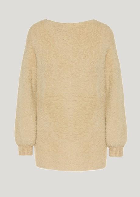 Pullover fluffy