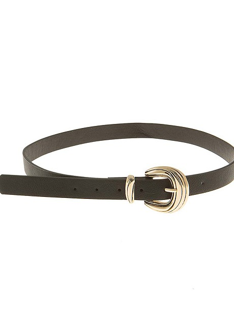 Belt with gold
