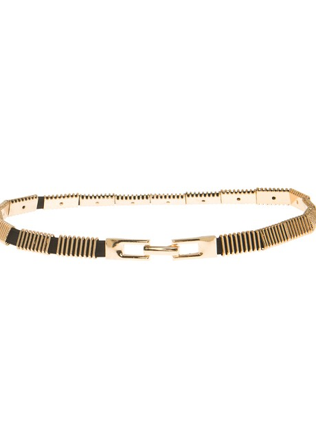 Belt with striped designs