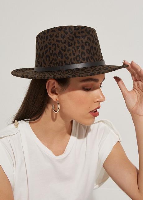 Καπέλο animal print