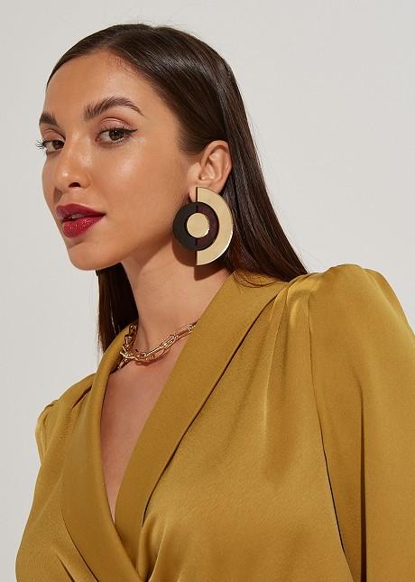 Geometric shape earrings