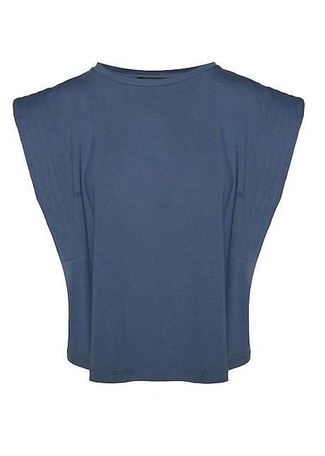 Αμάνικη βασική μπλούζα