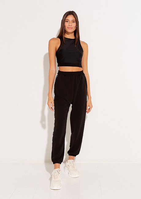 Trouser with side detail