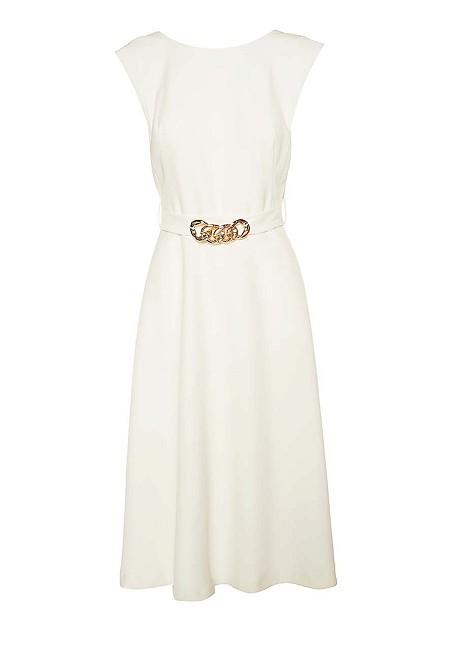 Dress with chain detail