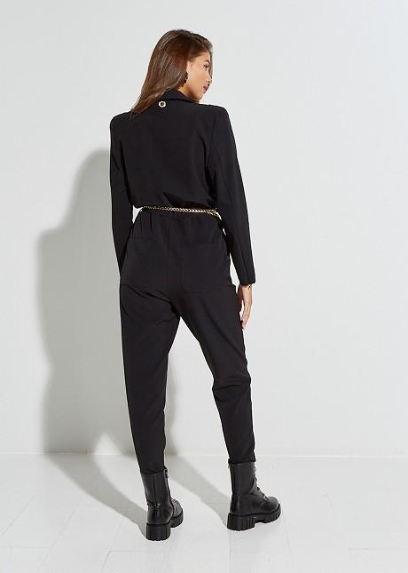Jumpsuit with zip