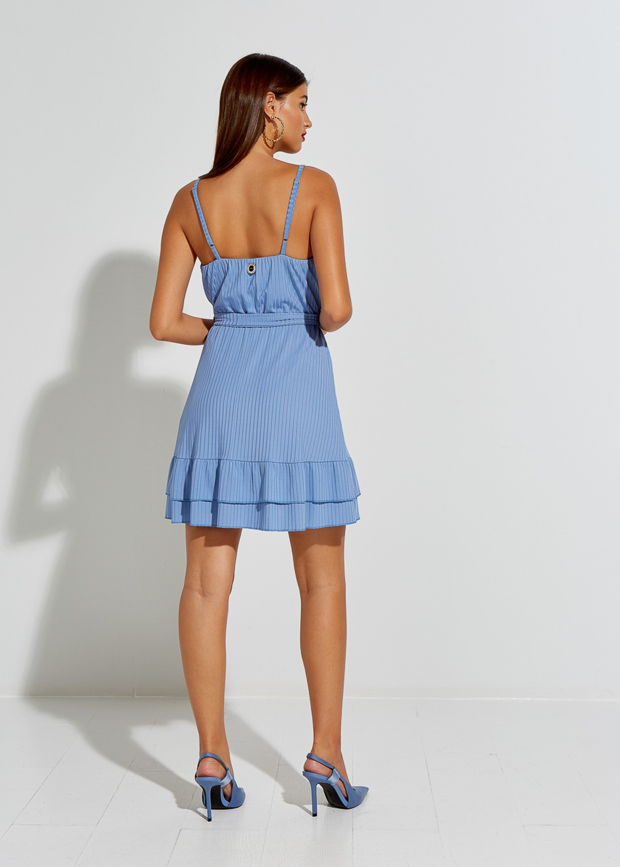 Рипсена къса рокля