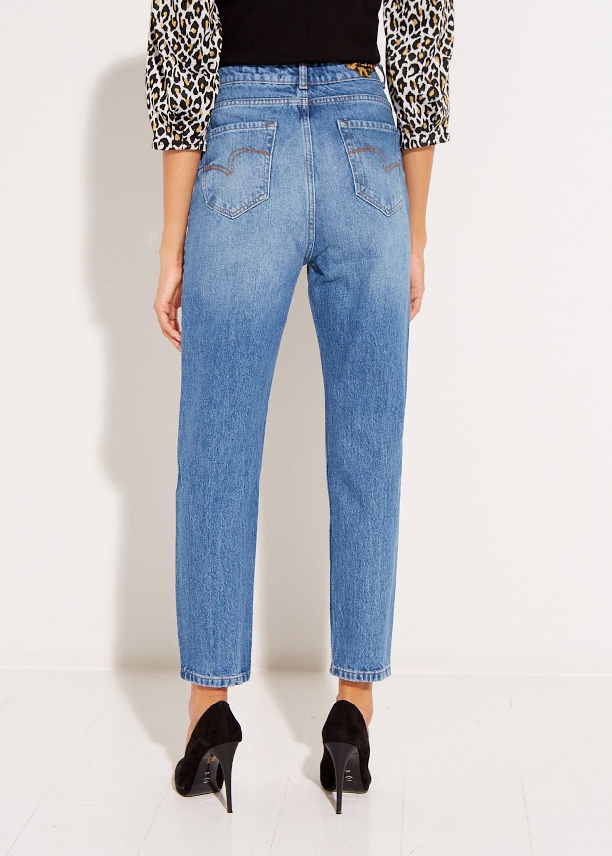 Kendall τζιν παντελόνι με σκισίματα