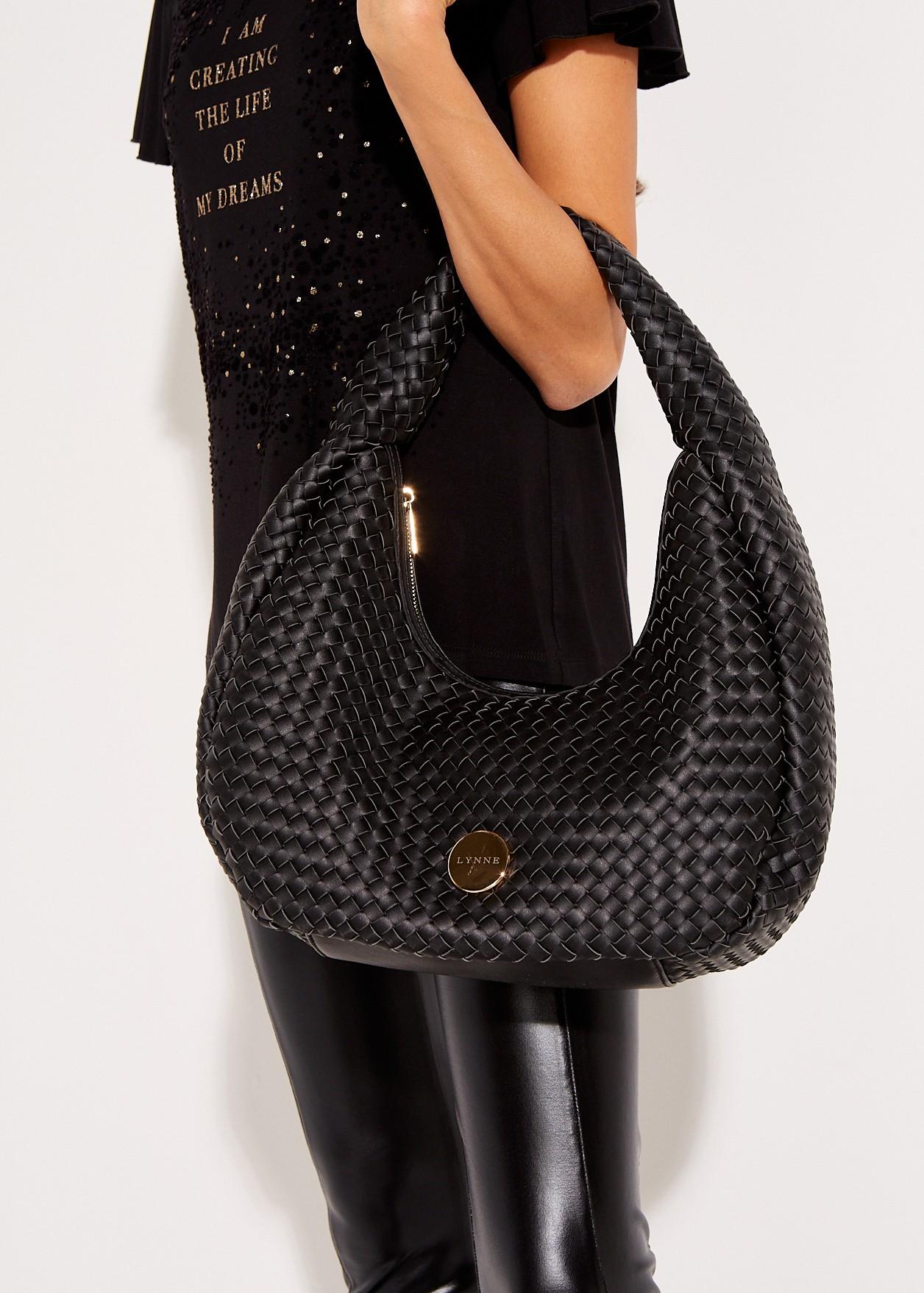 Πλεκτή τσάντα ώμου