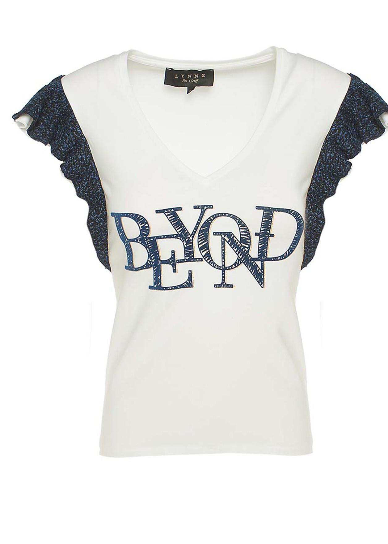 """Μπλούζα με τύπωμα """"beyond"""""""